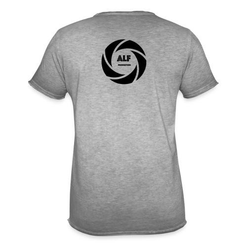 Logo Nero - Maglietta vintage da uomo
