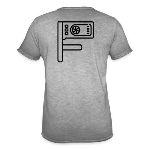 Logo Floewtech - Men's Vintage T-Shirt