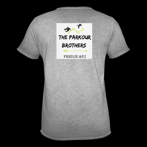 The parkours brothers T-shirt - Mannen Vintage T-shirt
