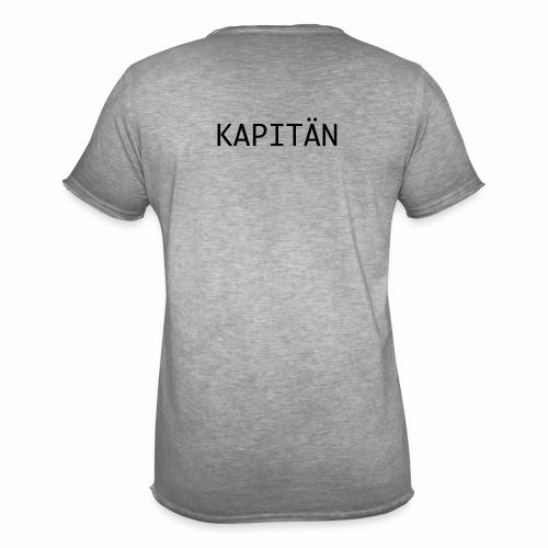 Kapitän - Männer Vintage T-Shirt