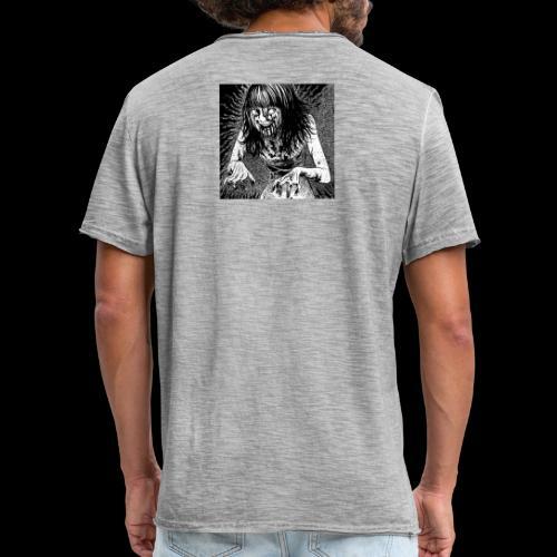 Hell 地獄 - Mannen Vintage T-shirt
