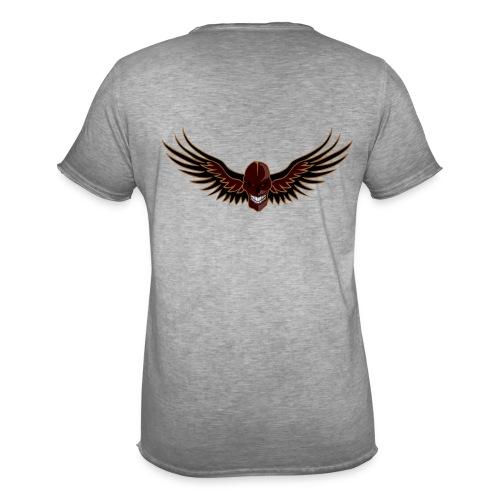 craneo aguila - Camiseta vintage hombre