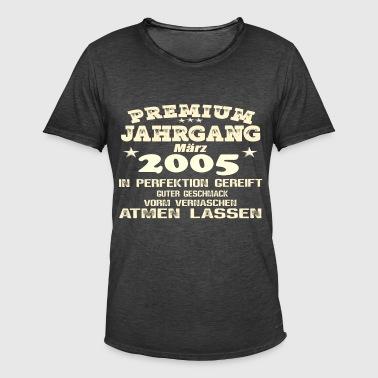 2005 Perfektion - Männer Vintage T-Shirt
