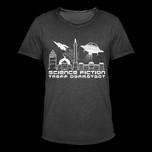 Science Fiction Treff Darmstadt - Männer Vintage T-Shirt