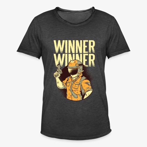 Winner Winner Gaming Gamer - Men's Vintage T-Shirt