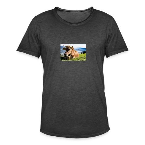 allgau 2232231 1920 - Männer Vintage T-Shirt