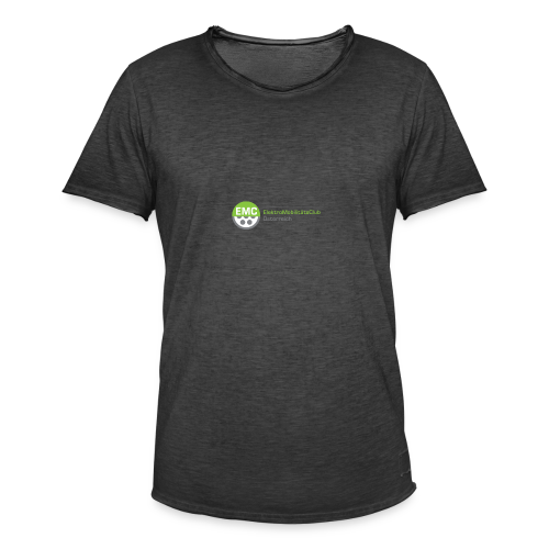 ElektroMobilitätsClub Logo - Männer Vintage T-Shirt