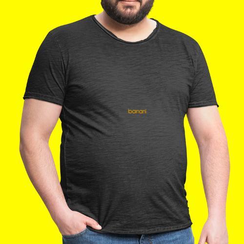 Banani-Schriftzug - Männer Vintage T-Shirt