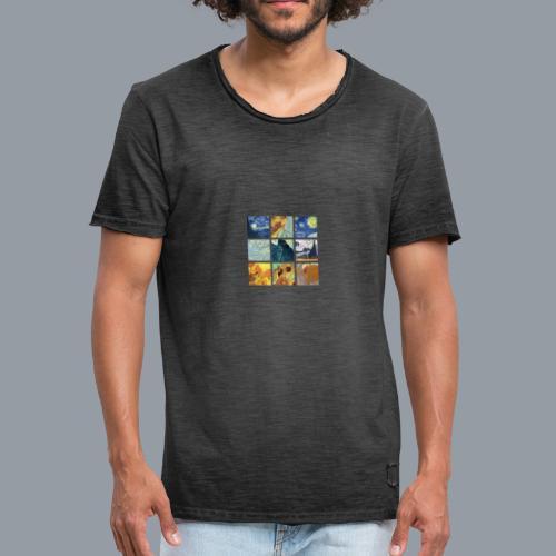 VAN GOGH COLLAGE - Camiseta vintage hombre