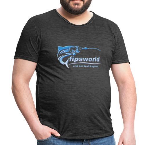 fipsworld - Männer Vintage T-Shirt