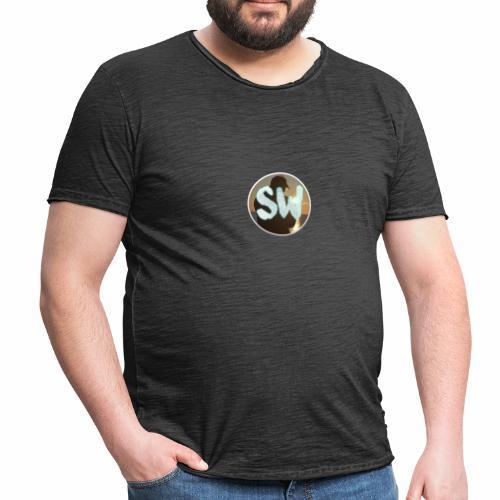 T-Shirts Rond StijnWolthuis logo - Mannen Vintage T-shirt