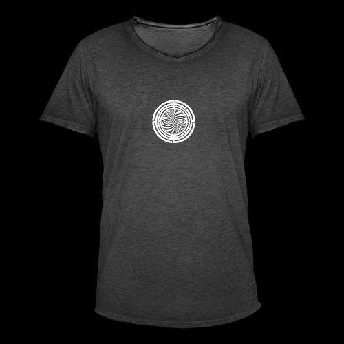 TRG Spiral Circle - T-shirt vintage Homme