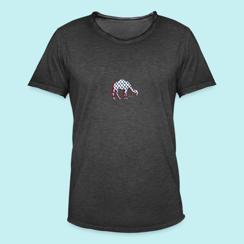 Camel Keffieh - T-shirt vintage Homme