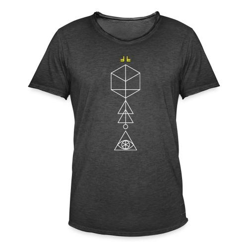 Cypher Main No.1 - White - Men's Vintage T-Shirt