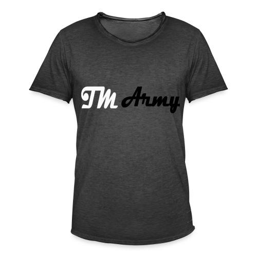 T-shirt - TM Army - Herre vintage T-shirt