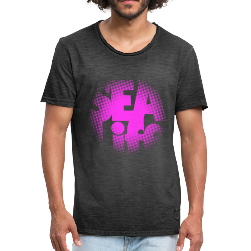 Sealife surfing tees, clothes and gifts FP24R01B - Miesten vintage t-paita
