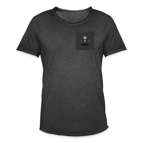 8FEA8468 DA77 498A A2B1 7BBD7C3EFF65 - Männer Vintage T-Shirt