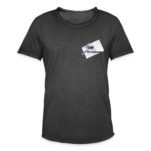 The scrutineer logo - Men's Vintage T-Shirt
