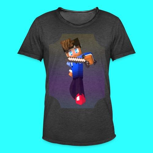 Mit Skin - Männer Vintage T-Shirt
