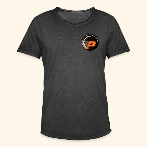 Planet Underground Round Logo - Men's Vintage T-Shirt