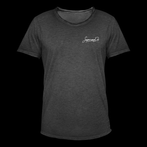 Supermoto - Männer Vintage T-Shirt