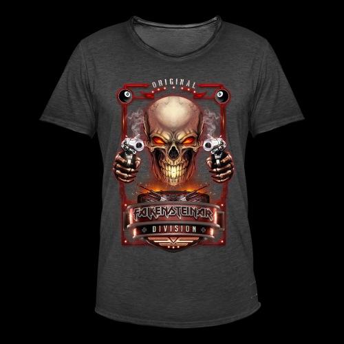 FalkenSteinar Division (Front) - Männer Vintage T-Shirt