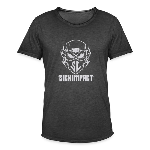 logo grey - Männer Vintage T-Shirt