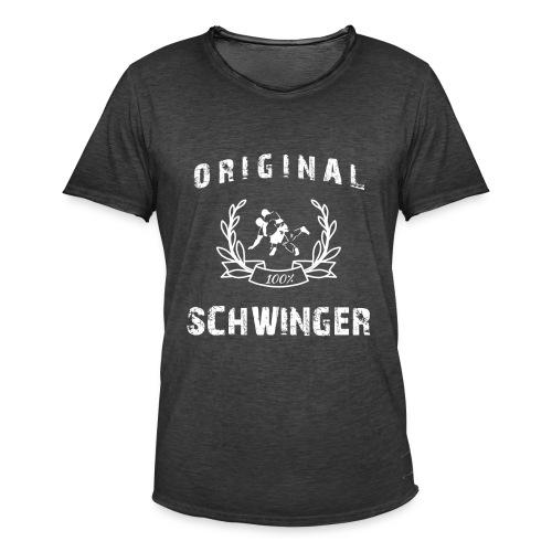 Original 100% Schwinger! - Männer Vintage T-Shirt
