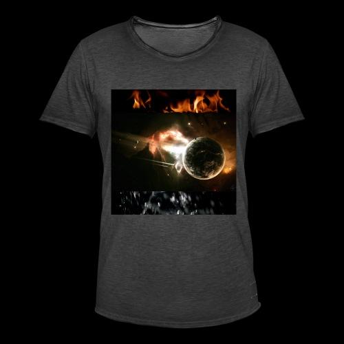 éléments principaux - T-shirt vintage Homme