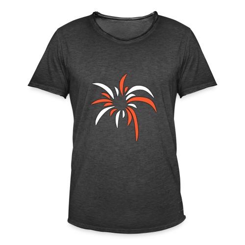 ExplosionsLogo - Männer Vintage T-Shirt