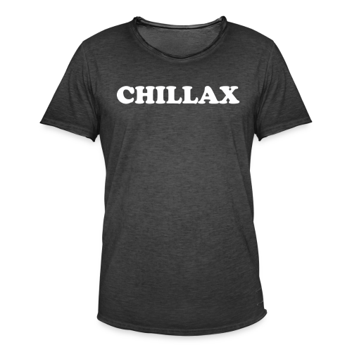 chill Collection - Vintage-T-skjorte for menn