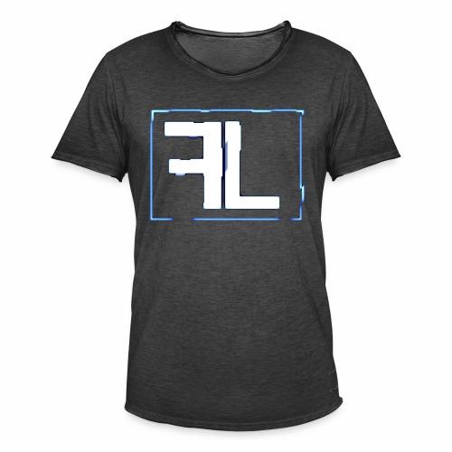 FL Logo - Männer Vintage T-Shirt