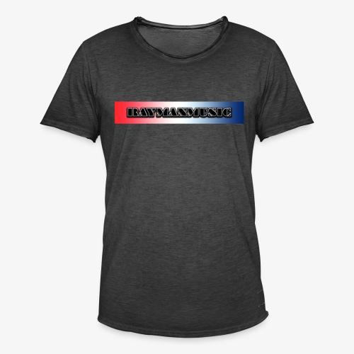 Rayman Exclusive Banner - Vintage-T-skjorte for menn