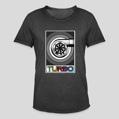 BoostApparel Design - Vintage Turbo - Männer Vintage T-Shirt