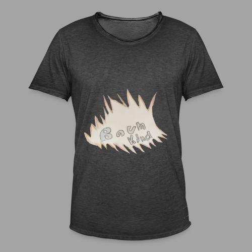 BAumkind logo design - Männer Vintage T-Shirt