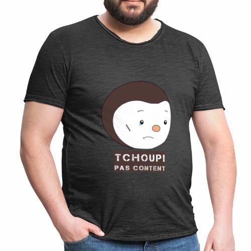 Tchoupi pas content ! - T-shirt vintage Homme