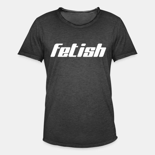 Logo Fetish - T-shirt vintage Homme