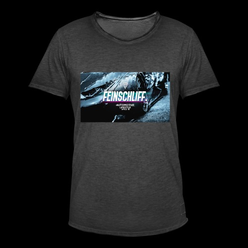 Feinschliff. Lambo Print - Männer Vintage T-Shirt