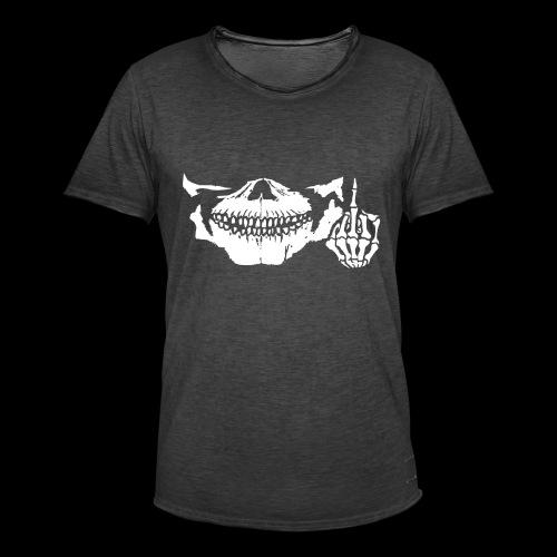 DJ SKULL LOGO - T-shirt vintage Homme