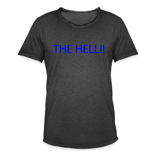 THE HELL!! - Vintage-T-shirt herr