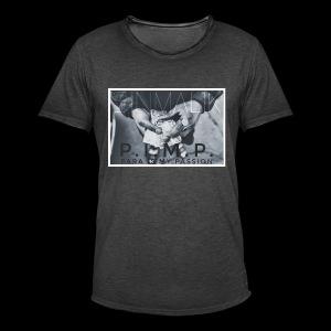 P.I.M.P Para ist my Passion - Männer Vintage T-Shirt