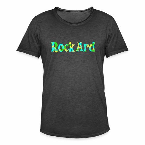RockArdVibrant - Men's Vintage T-Shirt