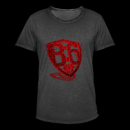 BRAVOSIX 3D Redpoint - Männer Vintage T-Shirt