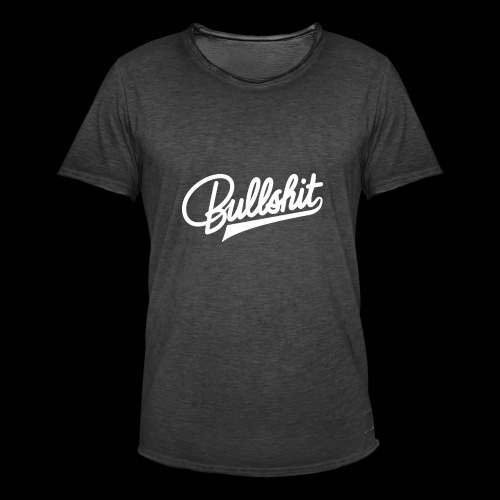 Bullshit - T-shirt vintage Homme