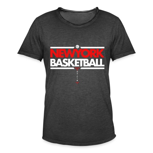 Horikima NY Basketball Men's T-Shirt - Männer Vintage T-Shirt
