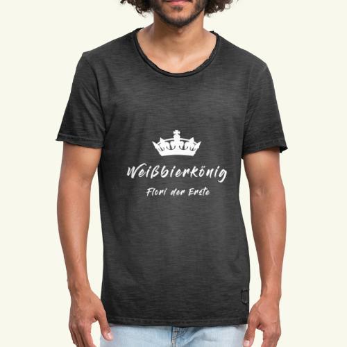 Weißbierkönig - Männer Vintage T-Shirt