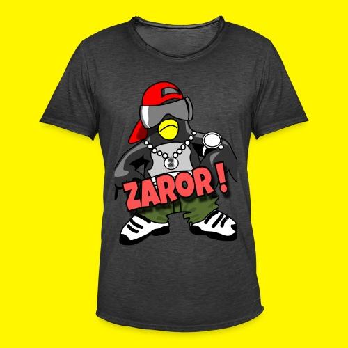 Zaror- T-Shirt - Männer Vintage T-Shirt