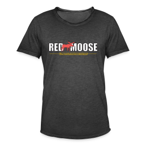 Red Moose logo - Vintage-T-shirt herr
