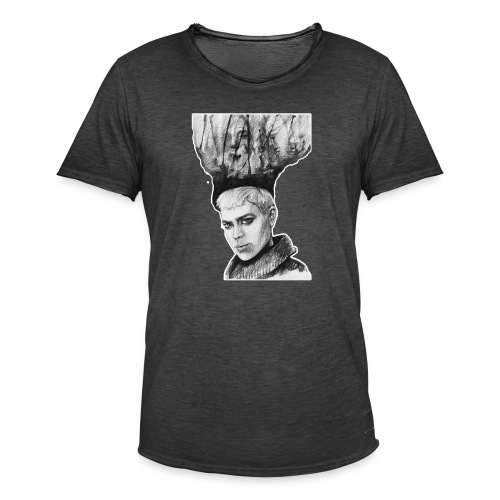 Dibujo creativo - Camiseta vintage hombre