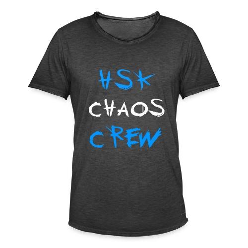 HSK CHAOS CREW - Männer Vintage T-Shirt